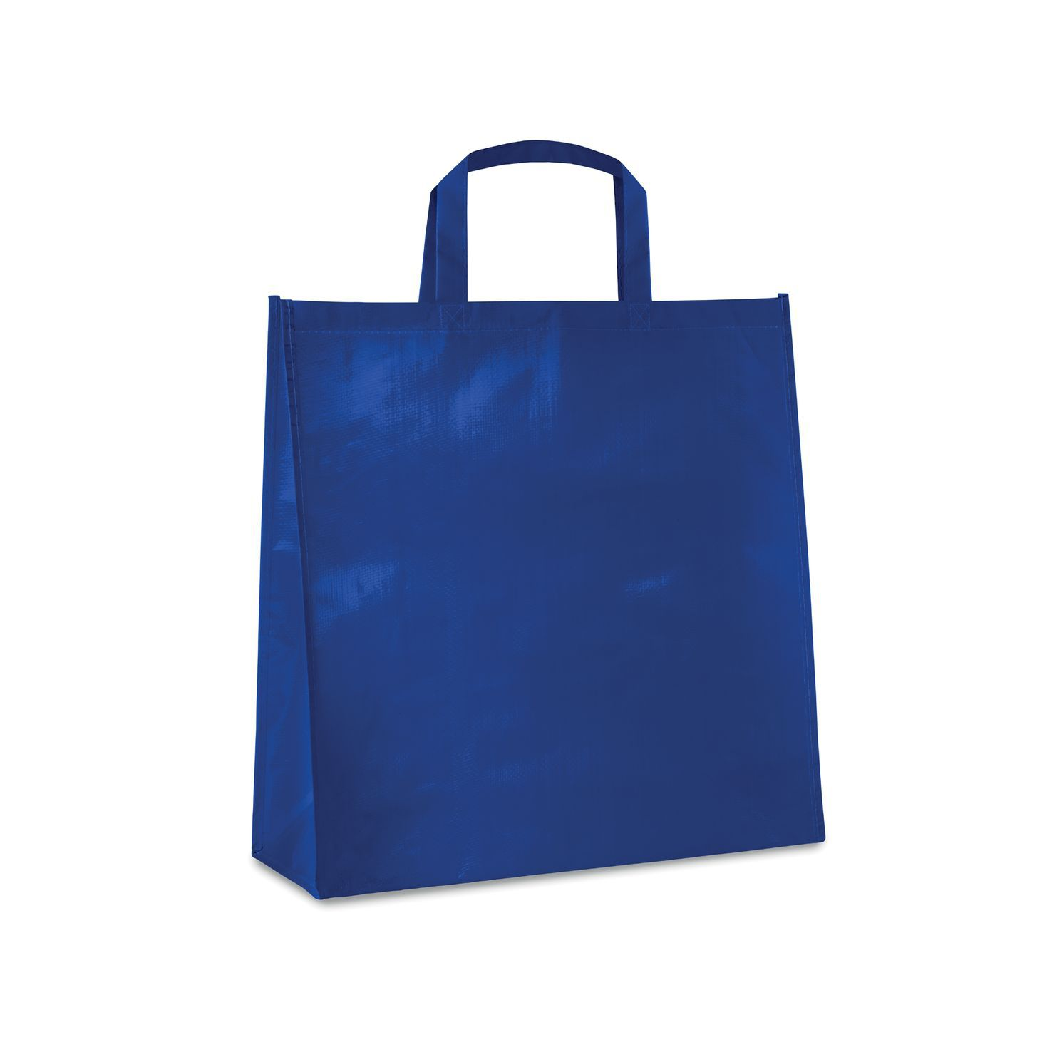 Blauwe Shopper | PP geweven | Gelamineerd | 120 grams