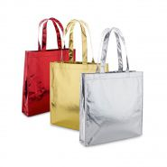 Metallic shopper | Gekleurd