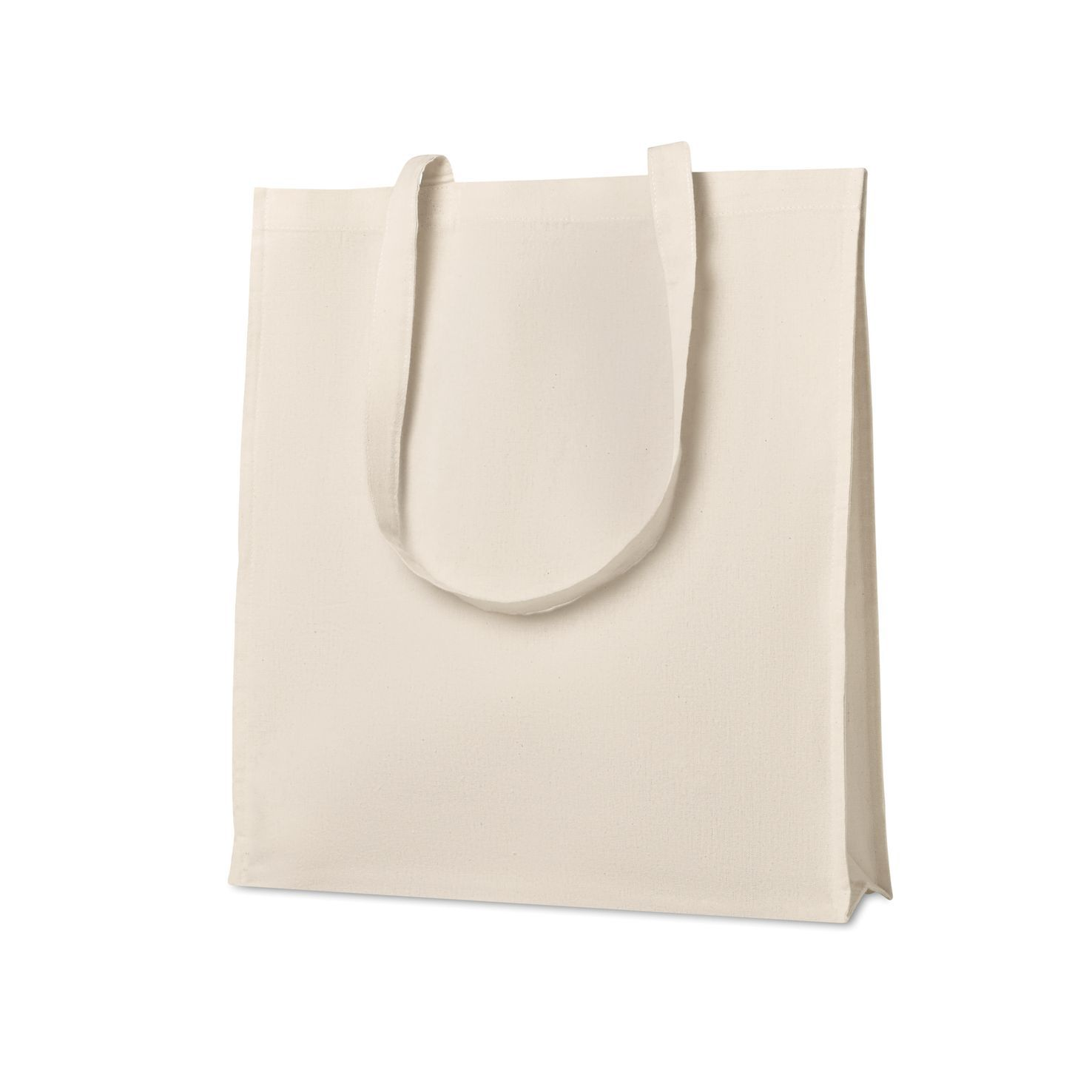 Ecru Katoenen shopper | Twill | 160 grams