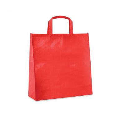 Rode Shopper | PP geweven | Gelamineerd | 120 grams