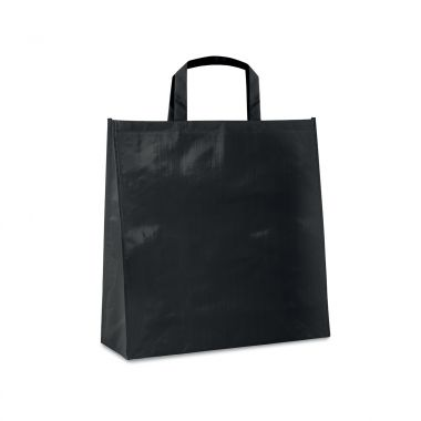 Zwarte Shopper | PP geweven | Gelamineerd | 120 grams